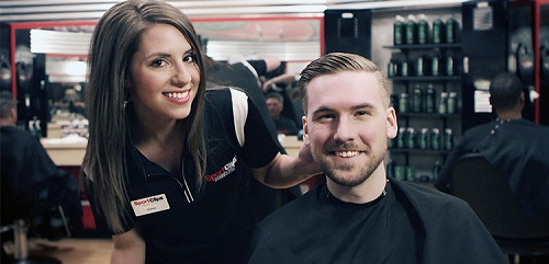 Sport Clips Haircuts of Lincolnshire - Lincolnshire Commons​ stylist hair cut